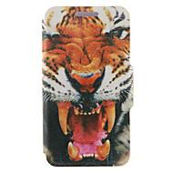 Для Кейс для  Samsung Galaxy со стендом / Флип Кейс для Чехол Кейс для Животный принт Искусственная кожа SamsungS6 edge plus / S6 edge /