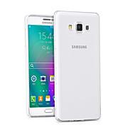 Для Кейс для  Samsung Galaxy Прозрачный Кейс для Задняя крышка Кейс для Один цвет TPU Samsung A5