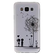COCO FUN® Love Dandelion Pattern Soft TPU IMD Back Case Cover for Samsung Galaxy E5 E500F E500H