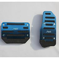 abordables Pedales-patín de aluminio acelerador del coche del pedal de freno de pedal se aplica a los coches de transmisión automática (colores surtidos)