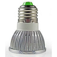 1pc e26 / e27 led spotlight 3w high power led 260lm warm wit koud wit ac220-240v