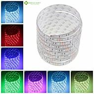 billige LED-stribelys-SENCART Fleksible LED-lysstriber 150 lysdioder Varm hvid RGB Hvid Grøn Gul Blå Rød Fjernbetjening Chippable Dæmpbar Vandtæt Selvklæbende