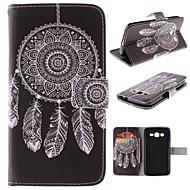 halpa Samsung kotelot / kuoret-Etui Käyttötarkoitus Samsung Galaxy Samsung Galaxy kotelo Korttikotelo Tuella Flip Kuvio Suojakuori Uni sieppari PU-nahka varten Grand 2