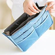 Handbag Organiser Makeup Storage Purse Large liner Organizer Tidy Bag Pouch(Random Color)