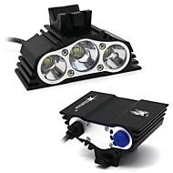 7500 LM SolarStorm 3x CREE T6 LED Front Bike Bicycle Light Headlight Headlamp