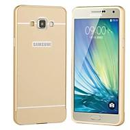 Недорогие Чехлы и кейсы для Galaxy A3(2017)-Кейс для Назначение SSamsung Galaxy Кейс для  Samsung Galaxy Покрытие Кейс на заднюю панель Сплошной цвет Твердый Акрил для A3 (2017) A5