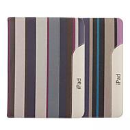 halpa iPad kuoret / kotelot-9,7 tuuman raitakuvion kankaalle kotelo jalustalla ipad 2/3/4