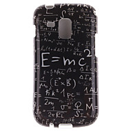 For Samsung Galaxy etui Mønster Etui Bagcover Etui Ord / sætning TPU Samsung Trend Duos
