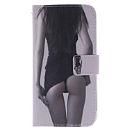 رخيصةأون -إلى سوني حالة / اريكسون Z3 محفظة / حامل البطاقات / مع حامل / قلب غطاء كامل الجسم غطاء امرآة مثيرة قاسي جلد اصطناعي إلى SonySony Xperia Z3