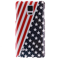 For Samsung Galaxy Note IMD Etui Bagcover Etui Flag TPU Samsung Note 4