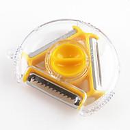 Χαμηλού Κόστους Εργαλεία κουζίνας-1 τμχ Αποφλοιωτή & τρίφτης For για Φρούτα / για λαχανικών ΠλαστικόΠολυλειτουργία / Υψηλή ποιότητα / Δημιουργική Κουζίνα Gadget /