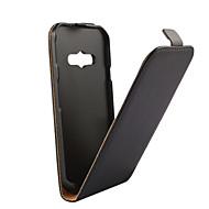 billige Mobilcovers-Etui Til Samsung Galaxy Samsung Galaxy etui Flip Fuldt etui Helfarve PU Læder for Xcover 3