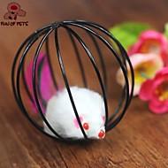 お買い得  -ネコ用おやつ マウス 編みボール プラスチック 用途 ネコ 子猫