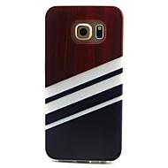 halpa Galaxy S5 Mini kotelot / kuoret-Käyttötarkoitus Samsung Galaxy kotelo kotelot kuoret Kuvio Takakuori Etui Linjat / aallot TPU varten Samsung Galaxy S6 edge S6 S5 Mini S5