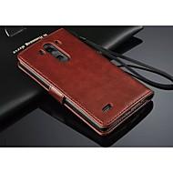 Для Кейс для LG С узором Кейс для Чехол Кейс для Фрукт Твердый Искусственная кожа LG LG G3