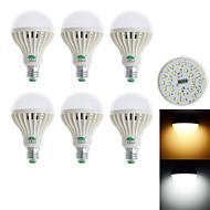 billige LED-globepærer-850-900 lm E26/E27 LED-globepærer G60 28 leds SMD 3528 Dekorativ Varm hvid Kold hvid AC 85-265V