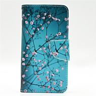 For Nokia etui Pung Kortholder Med stativ Etui Heldækkende Etui Træ Hårdt Kunstlæder for Nokia Nokia Lumia 640