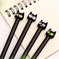 billige Til under kr. 5,94-Kuglepen Pen Gel Penne Pen, Plast Sort Blæk Farver For Skoleartikler Kontorartikler Pakke med