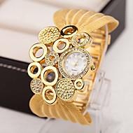 billige Modeure-Dame Quartz Halskæde Ur Imiteret Diamant Legering Bånd Vedhæng Vintage Elegant Mode Mangefarvet