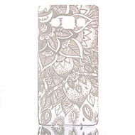 """Недорогие Чехлы и кейсы для Galaxy А-Для Кейс для  Samsung Galaxy Прозрачный / С узором Кейс для Задняя крышка Кейс для Рисунок """"Ловец снов"""" PC Samsung A5 / A3"""
