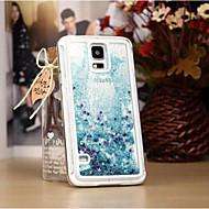 Для Samsung Galaxy Note Движущаяся жидкость Кейс для Задняя крышка Кейс для Сияние и блеск PC Samsung Note 4 / Note 3