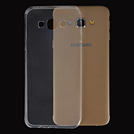 Para Funda Samsung Galaxy Ultrafina / Transparente Funda Cubierta Trasera Funda Un Color TPU Samsung A8 / A7 / A5 / A3