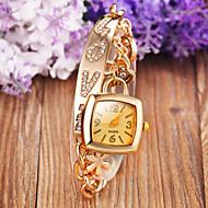 abordables Relojes-Mujer Reloj de Moda Reloj Pulsera Cuarzo Aleación Banda Analógico Destello Bohemio Elegante Plata / Dorado - Plata Dorado