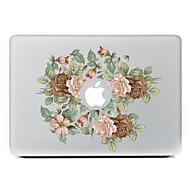 Kínai rózsa díszes bőr matrica MacBook Air / pro / pro retina kijelző