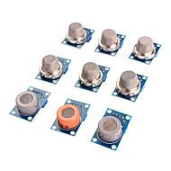 tanie Akcesoria Arduino-Moduł czujnika gazu Zestaw mq-2 mq-3 mq-4 mq-5 mq-6 mq-7 MQ-8 MQ-9 mq-135 czujnik do Arduino