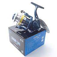 お買い得  -リール スピニングリール 5.1:1 ギア比+4.0 ボールベアリング 手の向き 交換可能 ベイトキャスティング / 穴釣り / スピニング - LL1000 / 川釣り / 鯉釣り / 一般的な釣り