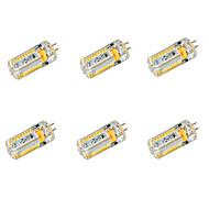 voordelige 2-pins LED-lampen-G4 LED-maïslampen T 72 leds SMD 3014 Warm wit Koel wit 650lm 2800-3200/6000-6500K DC 12 AC 12 AC 24 DC 24V