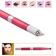 3d profesional de la ceja del maquillaje permanente posicionamiento manual de la pluma de tatuaje estante pluma de la máquina DSH-0023
