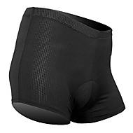preiswerte -SANTIC Fahrradunterwäsche Herrn Unisex Fahhrad Unterwäsche Shorts/Undershort Gepolsterte Shorts Unten Fahrradbekleidung Atmungsaktiv