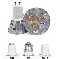 GU10 GU5.3(MR16) E26/E27 Focos LED MR16 3 LED de Alta Potencia 260 lm Blanco Cálido Blanco Fresco 3000K/6500K K Decorativa AC 85-265 V