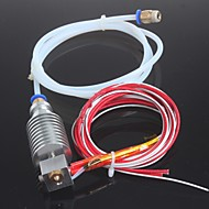 お買い得  Arduino 用アクセサリー-PTFEチューブランプ1.4と1.75ミリメートルE3Dボーデン押出機0.4ミリメートルノズルのための長距離3DプリンタJ-ヘッドhotend