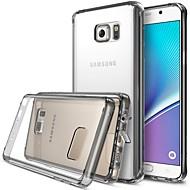 Mert Samsung Galaxy Note Minta Case Hátlap Case Szó / bölcselet Akril Samsung Note 5