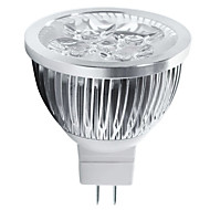 4w gu5.3 (mr16) led spotlight mr16 5 high power led 400-450lm warm wit koud wit 3000k / 6500k decoratieve dc 12v
