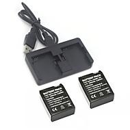 Φορτιστής μπαταρίας μπαταρία Για την Κάμερα Δράσης Gopro 3 Gopro 3+