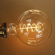 40w e27 retro -tyylialan läpinäkyvä hehkulamppu