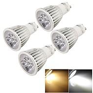 お買い得  LED スポットライト-YouOKLight 500lm GU10 LEDスポットライト MR16 5 LEDビーズ ハイパワーLED 装飾用 温白色 / クールホワイト 85-265V