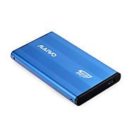 abordables Fundas de Disco Duro-maiwo k2501blue usb 3.0 sata caso de disco duro externa HDD-azul