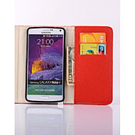 Para Samsung Galaxy Note Carcasa Funda Cartera Soporte de Coche con Soporte Flip Cuerpo Entero Funda Color sólido Cuero Sintético para