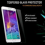 glas film klar foran skærmbeskytter med pakken til Samsung Galaxy Note 4