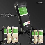 Для Кейс для  Samsung Galaxy Защита от удара / с окошком Кейс для Чехол Кейс для Армированный Металл Samsung S6 edge plus / A8 / Note 5
