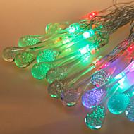 LED string light-emitting diode f5 20LED waterdichte IP65 rgb ac180-240v 5m / lot