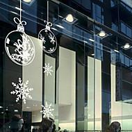 お買い得  -ウィンドウフィルム&ステッカー 装飾 コンテンポラリー アールデコ調 PVC / ビニール ウインドウステッカー