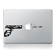 """tanie -naklejki dekoracyjne projekt pistolet skóry dla MacBook 13 """"powietrze / pro"""