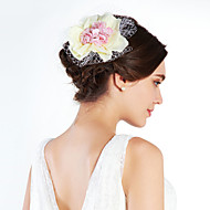 Vrouwen Imitatie Parel Net Helm-Speciale gelegenheden Fascinators
