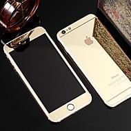 Недорогие Модные популярные товары-полный экран до и после посева зеркальное стекло пленка для Iphone / 6 6s (ассорти цветов)