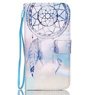 Недорогие Чехлы и кейсы для Galaxy S6 Edge Plus-Кейс для Назначение SSamsung Galaxy Кейс для  Samsung Galaxy Кошелек / Бумажник для карт / со стендом Чехол Ловец снов Кожа PU для S6 edge plus / S6 edge / S6